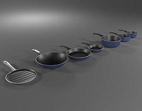 Pan Set 3D