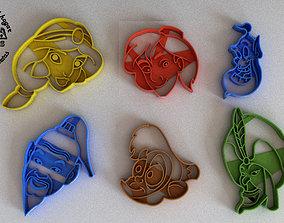 3D printable model Molde Cortante para Galletas Fondant 1