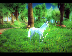 animated 3Dfoin - Unicorn