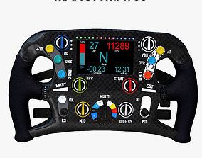 3D asset MRT05 Steering Wheel