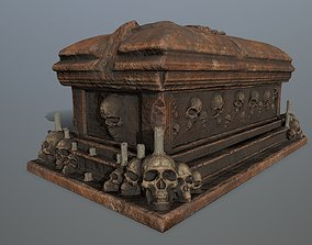 wax tomb 1 3D model game-ready
