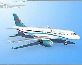 rigged Falcon3D A319 First Choise Airways