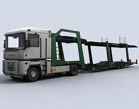 Car Transporter Truck 3D asset