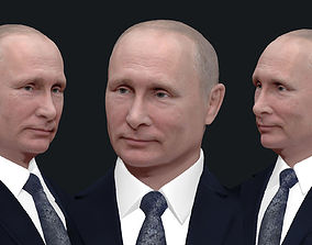 3D printable model figurines Vladimir Putin