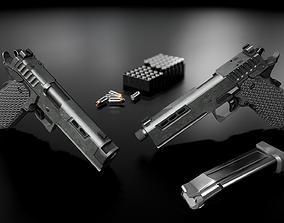 3D asset STI DVC 2011 Handgun