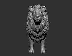 Lion 3d model nature