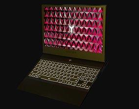3D asset Lenovo LEGION laptop