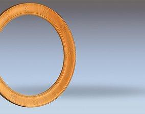 3D model Circle Zodiac Mirror