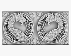 3D Celtic Ornament architectural
