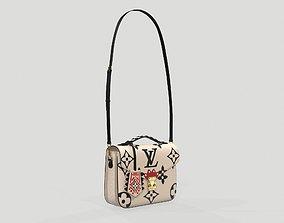 3D model Louis Vuitton Crafty Pochette Metis Bag Cream