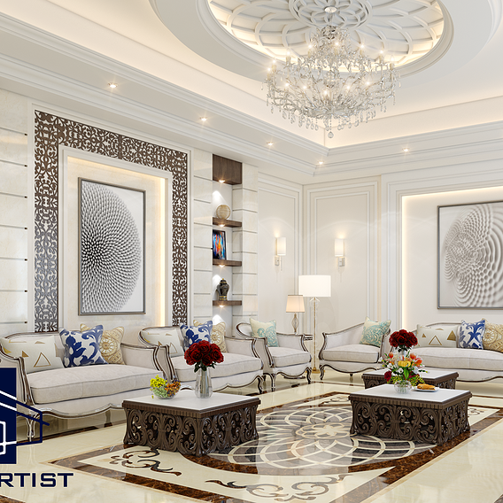 3D Photo-Realistic Interior Design