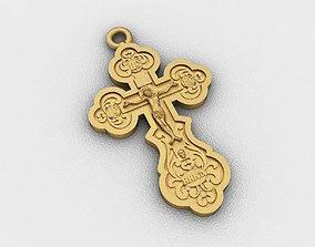 christ 3D printable model Cross
