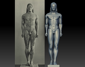 3D print model Kouros