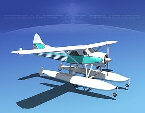 Dehavilland DHC-2 Beaver V15 3D model