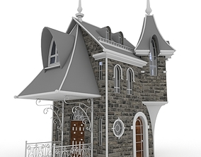 BUILDING 3D model house victorian