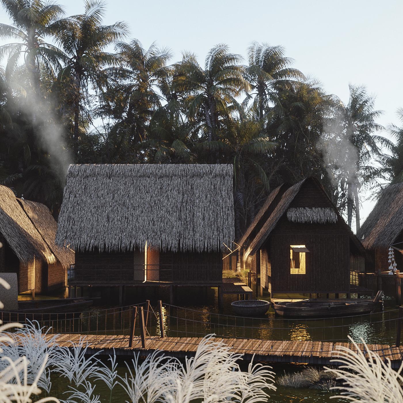 AnBang Fishing's village