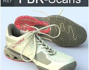 3D model Sneaker Low Poly