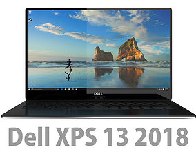 DELL XPS 13 2018 Black 3D model