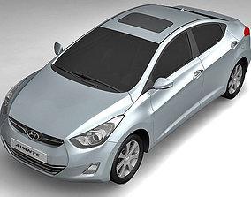 Hyundai Avante 2011 3D