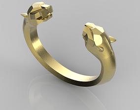Panthers bracelet cartier 3D print model