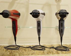 distribution 3D model game-ready Hair Dryer