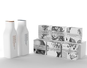 Shampoos and Packed Soaps 3D model