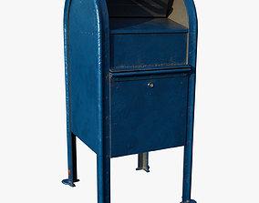 3D asset game-ready Mailbox postal