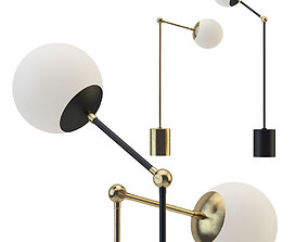 3D model Tango table lamp collection by Paul Matter