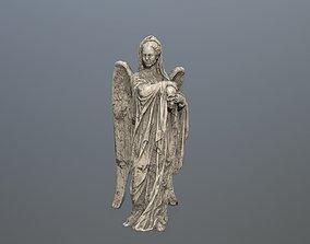 Angel Statue 02 3D asset