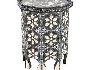3D Moroccan Bazar ELEPH SIDE TABLE