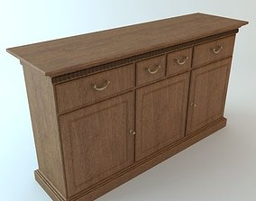 Credenza Cabinet 2 3D