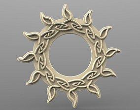 3D printable model Celtic sun CNC