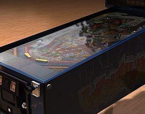 pinball machine - Earth Shaker 3D model