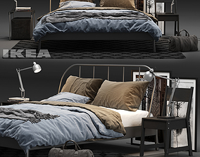 IKEA KOPARDAL Bed 3D model