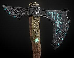 3D model Leviathan Axe