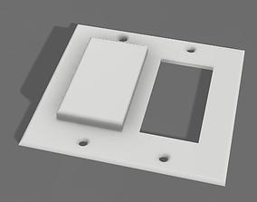 3D printable model Rocker Switch Guard