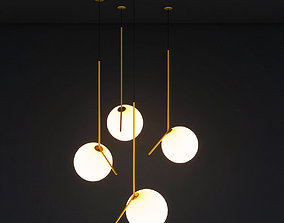 Ceiling Hanging Lamp 3D