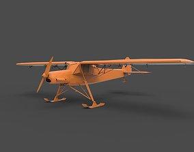 3D print model fieseler fi 156 storch winter