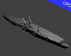 3D printable model German Graf Zeppelin Class Aircraft 1