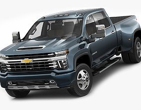 Silverado 2020 3500HD pick-up truck 3D model