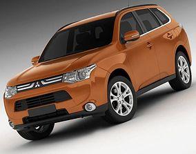 3D model Mitsubishi Outlander 2013