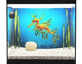 3D Leafy Sea Dragon