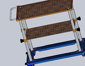 goods shelf 3D model
