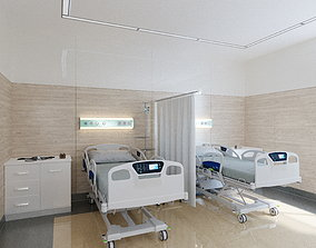 Intensive Care Medical Room 3D model