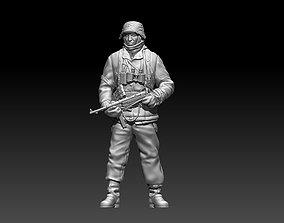 3D printable model German soldier ww2