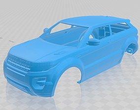 Range Rover Evoque Printable Body Car