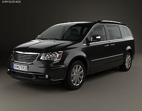 Chrysler Grand Voyager 2011 3D model