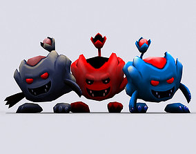 3DRT - Chibiimon - Imp animated