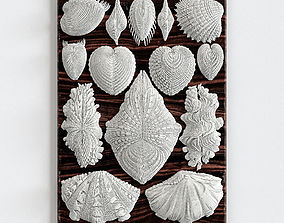 3D model Forms in Nature Wall Decor