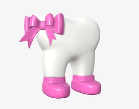 Missis tooth 3D model